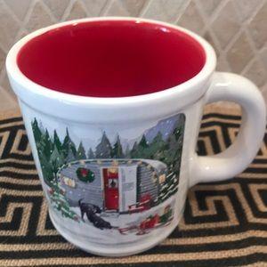 Magenta By Rae Dunn Holiday Camper Mug Red
